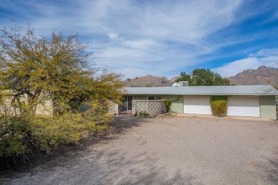 Tucson Single Family Home Active Contingent: 6555 N Camino De Michael