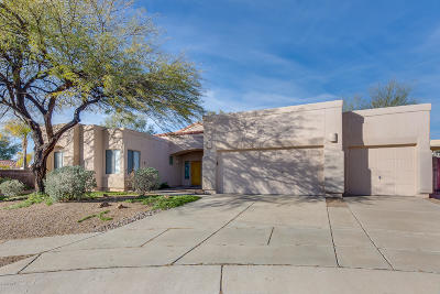 Oro Valley Single Family Home Active Contingent: 11707 N Teskow Drive