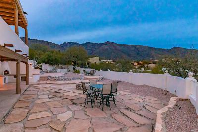 Tucson Single Family Home Active Contingent: 6210 N Paseo Zaldivar