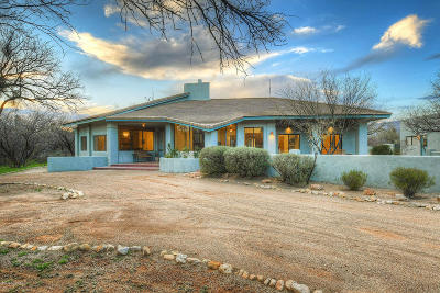 Tucson Single Family Home For Sale: 13385 E Camino La Cebadilla