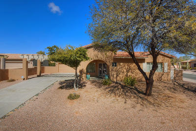 Oro Valley Single Family Home For Sale: 502 W Flaxen Drive