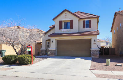 Pima County Single Family Home Active Contingent: 6633 S Hidden Flower Way