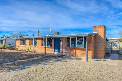 Pima County Single Family Home Active Contingent: 4608 S Fremont Avenue