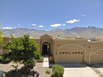 Oro Valley Townhouse For Sale: 12614 N Sleeping Coyote Drive