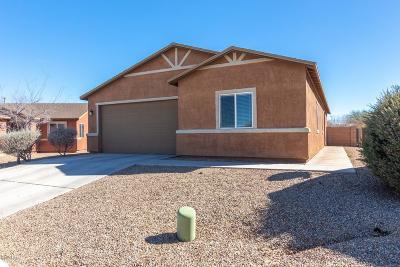 Pima County Single Family Home Active Contingent: 5097 E Fishhook Court