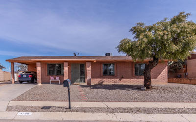 Pima County, Pinal County Single Family Home Active Contingent: 4789 S Manitoba Avenue