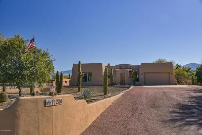 Oro Valley Single Family Home Active Contingent: 11280 N Shadow Vista Place