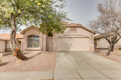Oro Valley Single Family Home For Sale: 12221 N Makayla Canyon Lane
