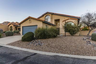 Tucson Single Family Home Active Contingent: 5424 N Indian Trail