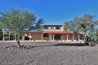Pima County, Pinal County Single Family Home For Sale: 9850 E Escalante Road