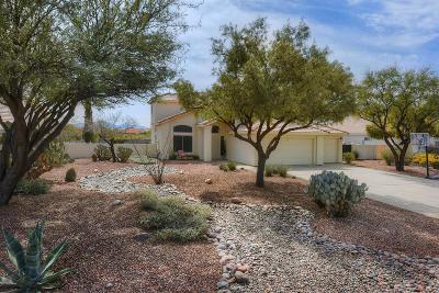 Tucson Single Family Home Active Contingent: 9298 E Carmel Drive