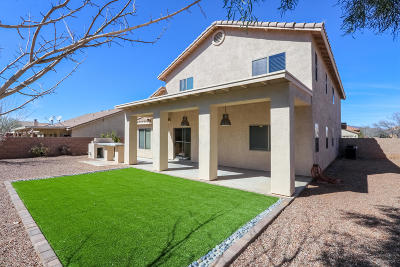 Tucson Single Family Home Active Contingent: 6463 W Misty Mountain Way
