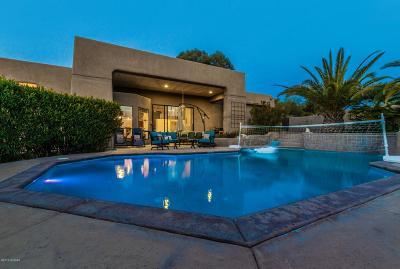 Tucson Single Family Home Active Contingent: 720 E Chula Vista Road
