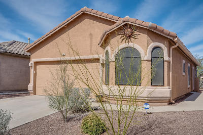 Sahuarita Single Family Home Active Contingent: 347 E Camino Limon Verde