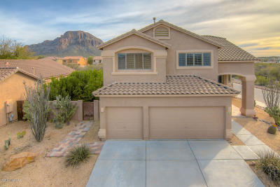 Tucson Single Family Home Active Contingent: 4223 S Amber Rock Avenue