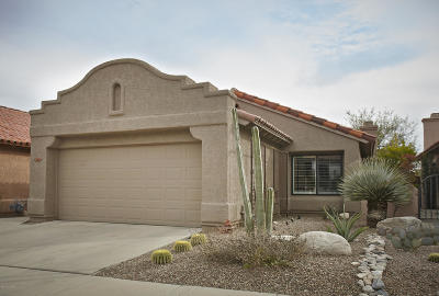 Single Family Home Active Contingent: 6413 N Via Divina