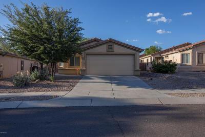 Marana Single Family Home Active Contingent: 5538 W Crimson Bluff Drive