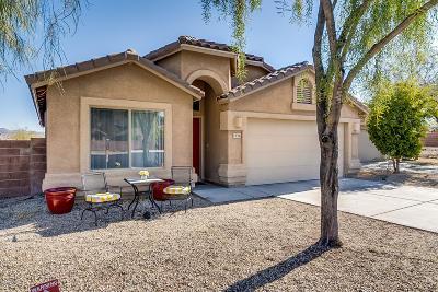 Tucson Single Family Home Active Contingent: 7926 W Moonfire Court