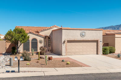 Oro Valley Single Family Home Active Contingent: 14270 N Copperstone Drive