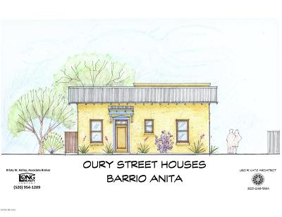 Tucson Single Family Home For Sale: 513 W Oury Street