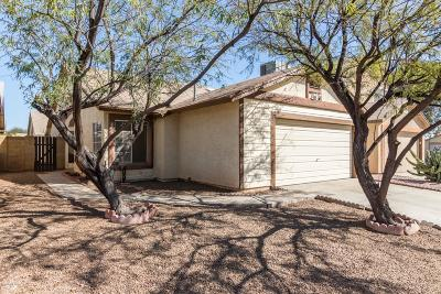 Tucson Single Family Home Active Contingent: 3050 W Calle Levante