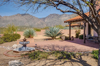 Pima County, Pinal County Single Family Home Active Contingent: 5201 N Via Velazquez