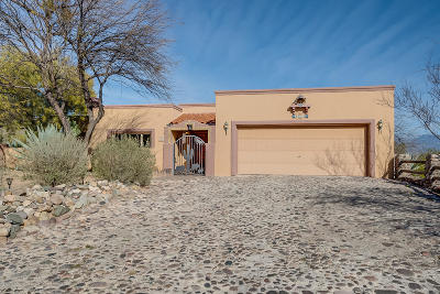 Pima County, Pinal County Single Family Home For Sale: 8209 E Big Horn Trail