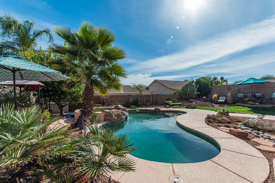 Tucson Single Family Home Active Contingent: 2283 W Mystic Mountain Drive