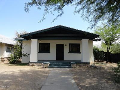 Pima County Single Family Home For Sale: 623 E 6th Street