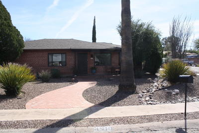 Pima County Single Family Home Active Contingent: 4910 E 13th Street