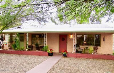 Pima County Single Family Home For Sale: 2201 E Silver Street