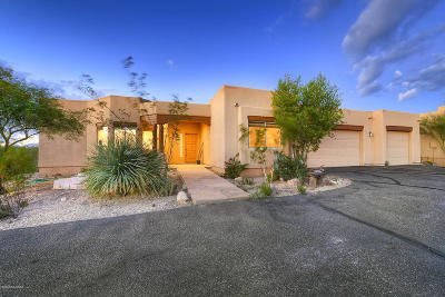 Tucson Single Family Home Active Contingent: 5373 S Saguaro Springs Place