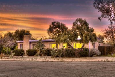 Pima County Single Family Home Active Contingent: 2933 E Exeter Street