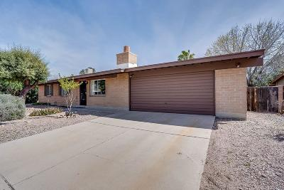 Pima County Single Family Home Active Contingent: 7708 N Jensen Drive