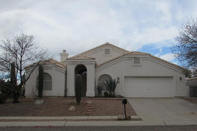 Pima County Single Family Home For Sale: 7431 N Thornwood Road