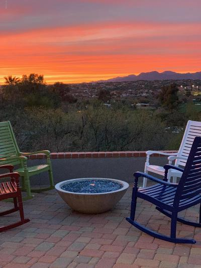 Oro Valley Single Family Home Active Contingent: 9940 N Desert Sky Place
