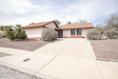 Tucson Single Family Home Active Contingent: 2150 S Greasewood Road