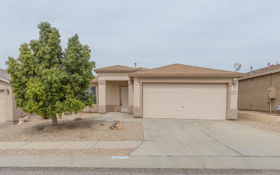 Pima County, Pinal County Single Family Home Active Contingent: 9851 E Rocky Vista Drive