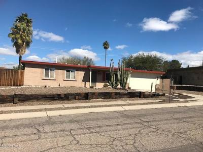 Pima County, Pinal County Single Family Home Active Contingent: 9521 E Irene Street