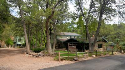 Cochise County Single Family Home For Sale: 29 E Ramsey Canyon Road