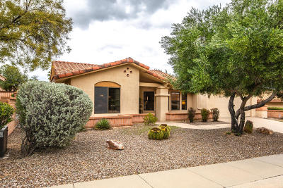 Oro Valley Single Family Home Active Contingent: 14530 N Crown Point Drive