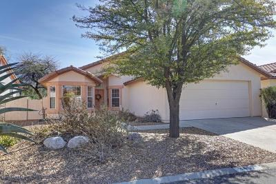 Pima County Single Family Home Active Contingent: 3457 W Desert Bend Loop