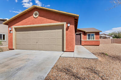 Pima County Single Family Home Active Contingent: 5095 E Fishhook Court