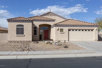 Marana Single Family Home Active Contingent: 4968 W New Shadow Way