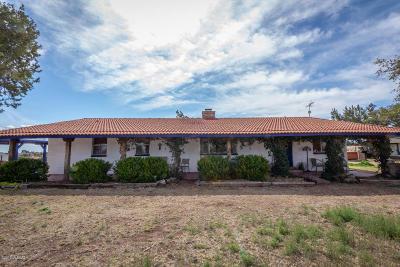 Sonoita Single Family Home For Sale: 40 Apache Trail