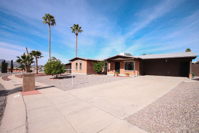 Pima County Single Family Home Active Contingent: 4120 W Barque Drive