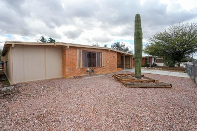 Pima County, Pinal County Single Family Home Active Contingent: 6648 E David Drive