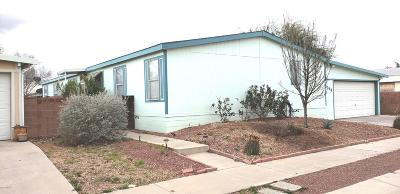 Pima County Manufactured Home Active Contingent: 6098 E Rough Rock Drive