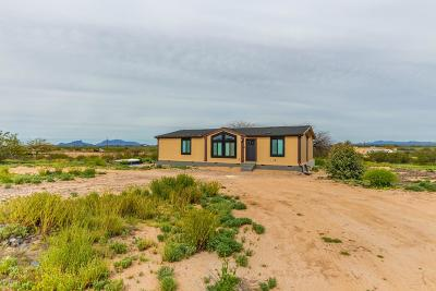 Manufactured Home For Sale: 15987 W Trico Marana Road