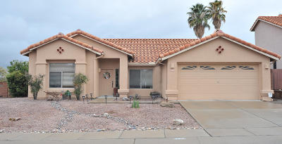 Oro Valley Single Family Home Active Contingent: 563 W Paseo Rio Grande